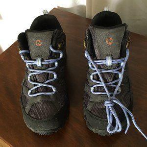 Merrell Kids Girls Moab 2 Mid Wtrpf Hiking Boots